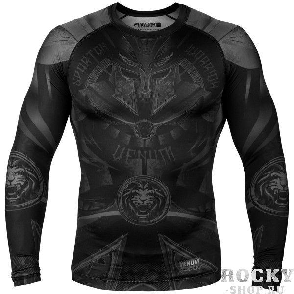 Купить Рашгард Venum Gladiator Black/Black L/S (арт. 27662)