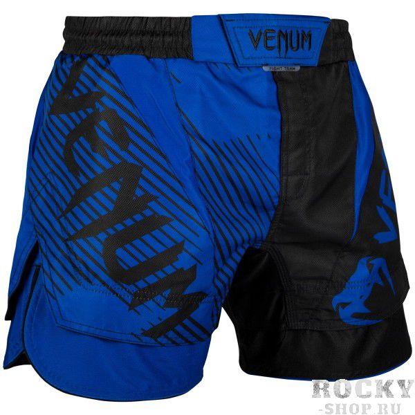 Шорты ММА Venum NoGi 2.0 Black/Blue (арт. 27698)  - купить со скидкой