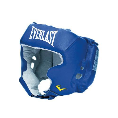 Боксерский шлем, тренировочный USA Boxing Cheek, Размер L EverlastБоксерские шлемы<br>Лёгкий тренировочный шлем с защитой скул. <br> Натуральная кожа<br> Внутреннее покрытие из мягкой натуральной замши<br><br>Цвет: Синий