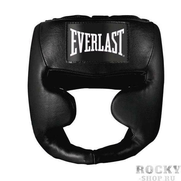 Купить Боксерский шлем, тренировочный ММА Everlast чёрный 7420 (арт. 2772)