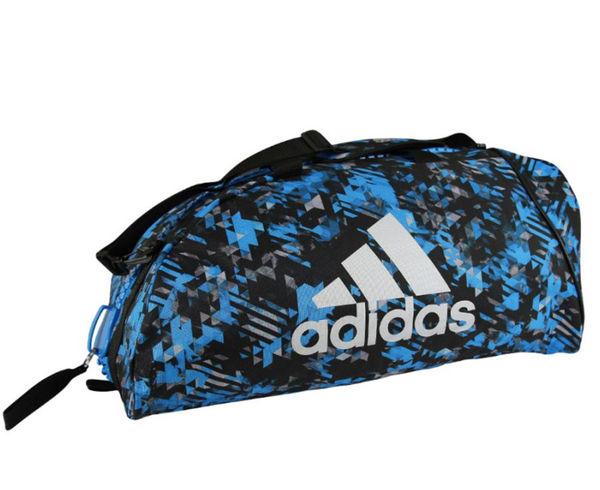Купить Сумка-рюкзак Training 2 in 1 Camo Bag Combat Sport M сине-камуфляжная Adidas (арт. 27725)