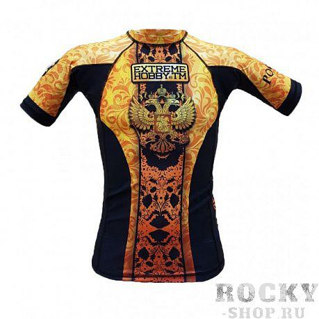 Рашгард RUSSIA золото s/s Extreme Hobby