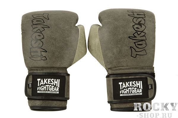 Боксерские перчатки Takeshi Fight Gear New vintage, 16 oz Takeshi FG