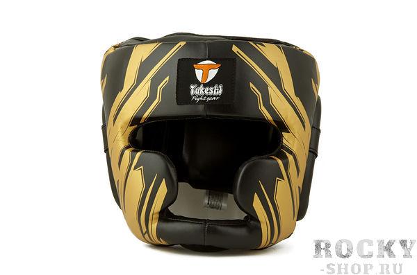 Детский боксерский шлем Takeshi Full Face, Black Takeshi FG
