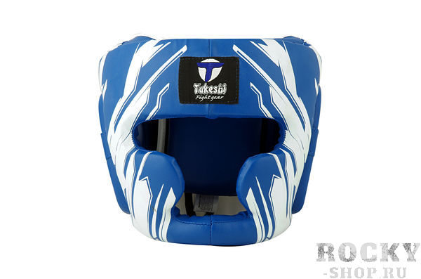 Детский боксерский шлем Takeshi Full Face, Blue Takeshi FG