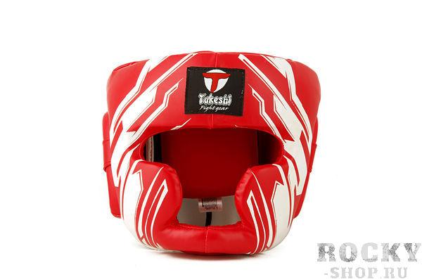 Детский боксерский шлем Takeshi Full Face, Red Takeshi FG