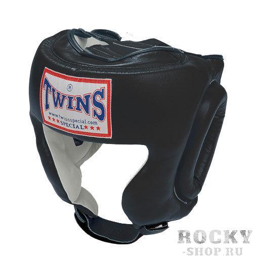 Шлем тренировочный, Размер L Twins SpecialБоксерские шлемы<br>Шлем тренировочный на застёжке-резинке, смоделированный для защиты щёк. <br> Защищает лицо от травм<br> Конструкция смоделирована для защиты щёк<br> Застёжка-липучка на затылке обеспечивает удобство при одевании и снятии шлема<br> Широкие эластичные резинки вместо стандартных шнурков<br> Отличный обзор<br> Кожа премиального качества<br> Ручная работа<br><br>Цвет: Черный