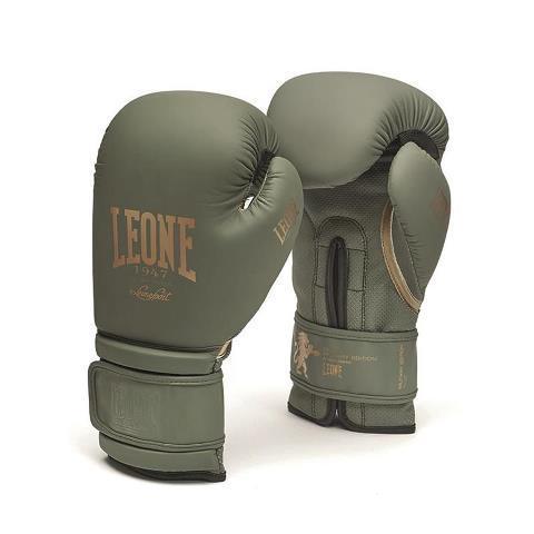 Боксерские перчатки Leone 1947 MILITARY EDITION GN059G, 12 унций Leone