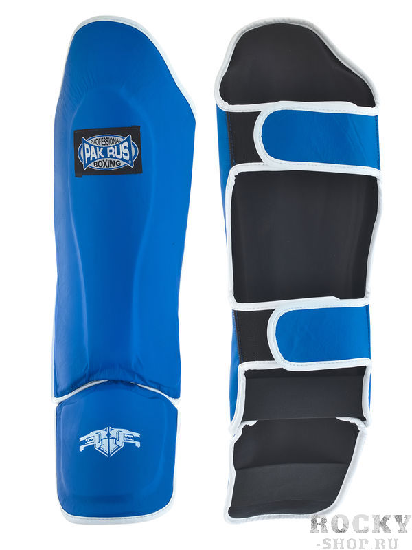 Купить Защита голени Pak Rus Leather, Blue (арт. 28075)
