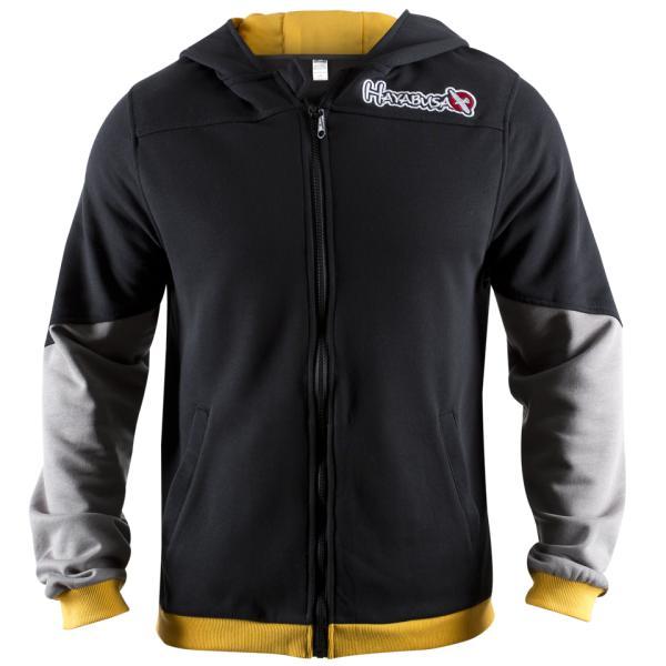 Олимпийка Hayabusa Wingback Hoodie Black/Grey/Yellow Hayabusa