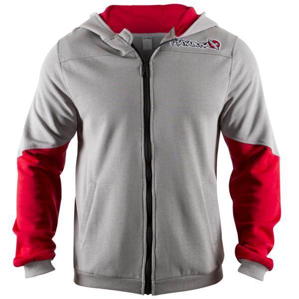 Олимпийка Hayabusa Wingback Hoodie Grey/Red Hayabusa