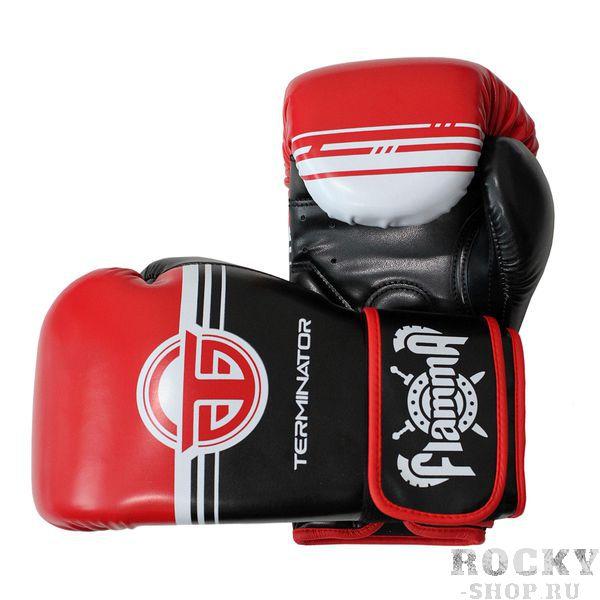 Боксерские перчатки Flamma Terminator 2.0 Red, 12 OZ Flamma