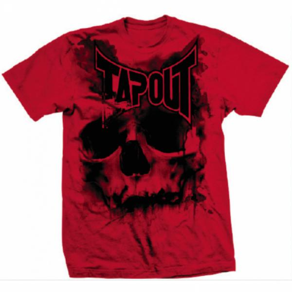 Футболка Tapout Skull Drip Mens T-Shirt Red Tapout