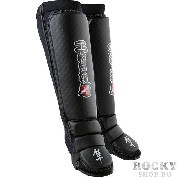 Купить Щитки Hayabusa Shin / Instep Guard Black (арт. 2857)