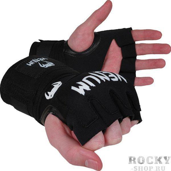 Гелевые бинты боксерские Venum Gel Kontact Glove Wraps VenumБоксерские бинты<br>Один из наших самых ходовых товаров, имеют огромный успех среди боксеров всех возрастов и уровней! Подходят для любых тренировок и боев. &amp;nbsp;Гель защищает и предоставляет амортизацию для &amp;nbsp;пальцев, руки и запястья. Эластичный неопрен. Крюк-петля для поддержки запястья.<br><br>Размер: Без размера (регулируется)