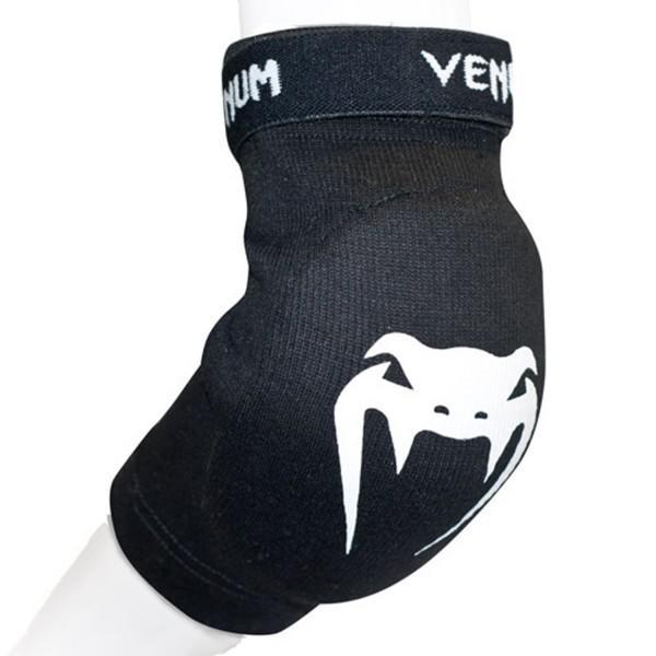 Купить Налокотники Venum Kontact Elbow Protector - Cotton Black (арт. 2868)