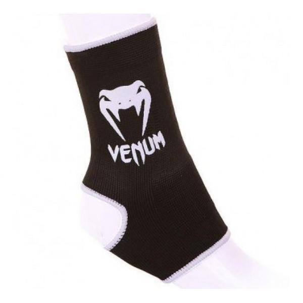 Суппорты Venum Ankle Support Guard - Muay Thai  Kick Boxing Black VenumЗащита тела<br>Отличная защита голеностопного сустава. Предотвращают скольжение. Один раз попробовав, вы не согласитесь на что-либо другое! Состав 100% хлопок.<br>