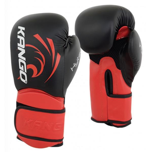 Перчатки боксерские Kango BVK-085 Black/Red PU, 16 унций KANGO