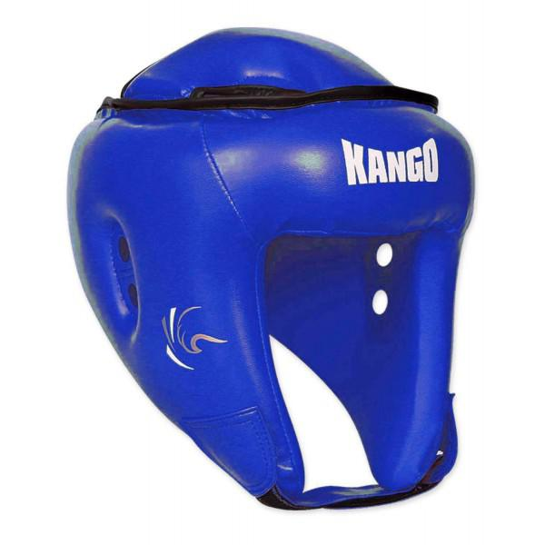 Шлем боксерский Kango KHG-11 Blue PU KANGO