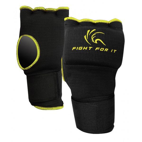 Гелевые перчатки Kango KSH-067 Black/Yellow KANGO