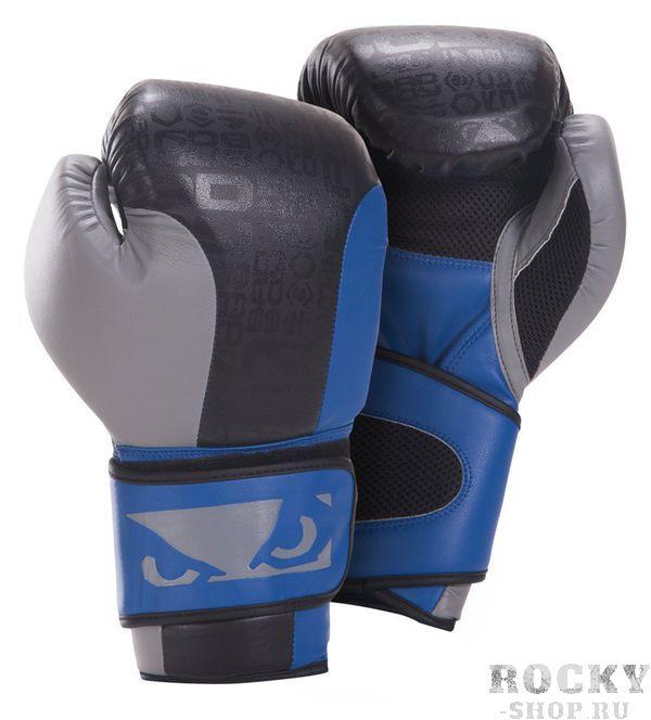 Купить Перчатки боксерские Bad Boy Legacy Boxing Gloves Black/Blue/Grey 16 унций (арт. 2883)