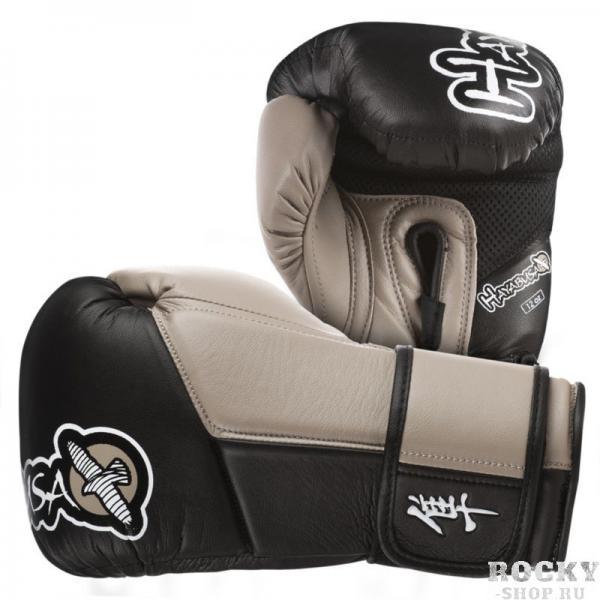 Купить Перчатки для Бокса Hayabusa Tokushu 12oz Gloves Black/Desert Sand (арт. 2885)