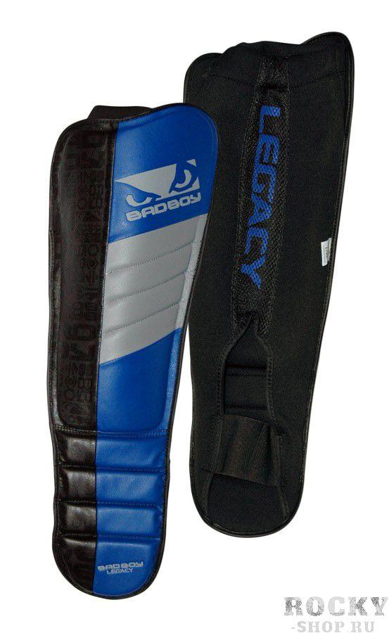 Купить Щитки Bad Boy Legacy MMA Shin Guards - Black/Blue/Grey (арт. 2920)