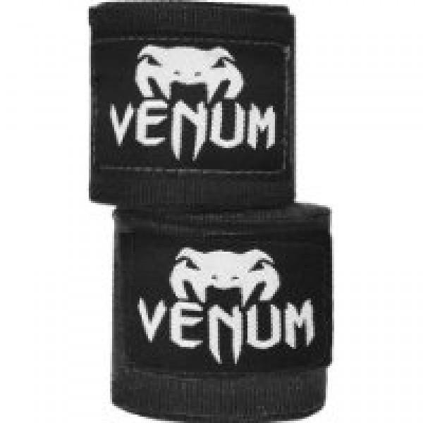 Бинты боксерские Venum Kontact, 4 метра, 4 метра VenumБоксерские бинты<br>Для профессиональной подготовки и большей выносливости - это обязательная защита для ваших рук. - 100% хлопок- Размер: 4мЦвет: черный<br>