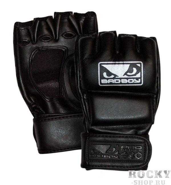 Перчатки для мма  Bad Boy Pro Series 2.0 Victory MMA Gloves Bad BoyПерчатки MMA<br>Стильные ММА перчатки с логотипом Bad Boy. Перчатки высшего качества с точки зрения эргономики и материалов с прокладкой вокруг суставов и верхней части кулака для максимальной защиты при нанесении различных ударов. Изготовлены из высококачественной кожи с усиленными швами, что значительно увеличивает срок службы. В этих перчатках нет поддержки большого пальца, что обеспечивает бОльшую свободу движений. Застежка на липучке оборачивается вокруг запястья и обеспечивает хорошую фиксацию, столь необходимую при ударе. Идеально подходит для соревнований в 4 унцовых перчатках. Будьте победителем в перчатках Bad Boy Victory!Характеристики:Высококачественная синтетическая кожаПлотные защитные панелиОткрытый большой палецЗастежка Velcro для фиксации запястьяУсиленные швы на пальцахВес 4 унции<br><br>Размер: XXL
