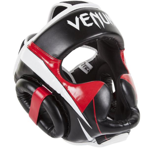 Шлем боксерский Venum «Elite» Headgear 100% Premium Leather