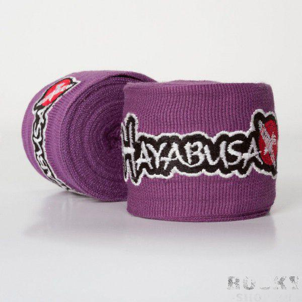 Бинты боксерские Hayabusa Perfect Stretch Hand Wraps Slate Dark Orchid