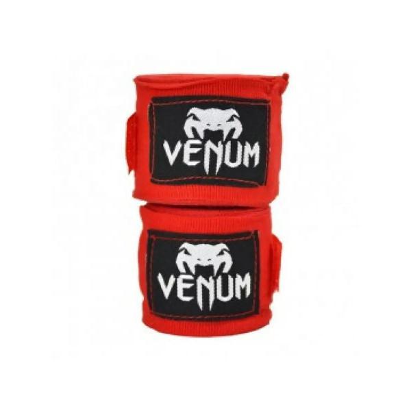 Бинты боксерские Venum Kontact, 4 метра, 4 метра VenumБоксерские бинты<br>Для профессиональной подготовки и большей выносливости - это обязательная защита для ваших рук. - 100% хлопок- Размер: 4мЦвет: красный<br>