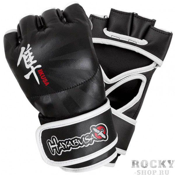 Перчатки ММА Hayabusa Ikusa 4oz MMA Gloves - Black HayabusaПерчатки MMA<br>Благодаря запатентованной технологии застежки Dual-X и Y-Volar дизайна, эти перчатки предлагают непревзойденную производительность, комфорт и превосходную поддержку запястья. Y-Volar конструкция обеспечивает надежную фиксацию для повышения стабильности и отзывчивости. Запатентованная технология двойной застежки обеспечивает максимальную поддержку запястья для оптимальной ударной мощи. Искуственная кожа и эксклюзивная внутренняя подкладка для идеальной посадки и ощущений. Цвет - черный<br><br>Размер: XL