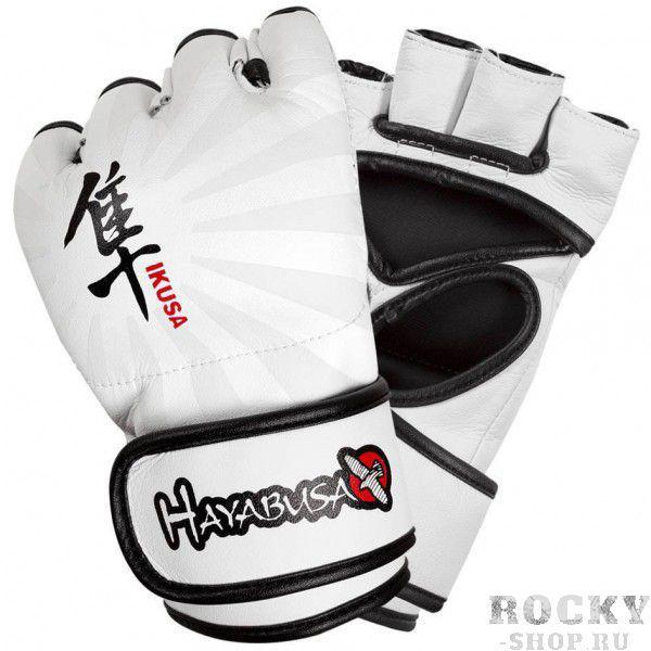 Купить Перчатки ММА Hayabusa Ikusa 4oz MMA Gloves - White (арт. 2964)