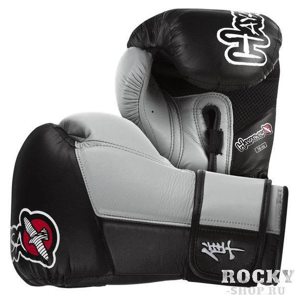 Купить Перчатки боксерские Hayabusa Tokushu 16oz Gloves Black/Grey (арт. 2971)