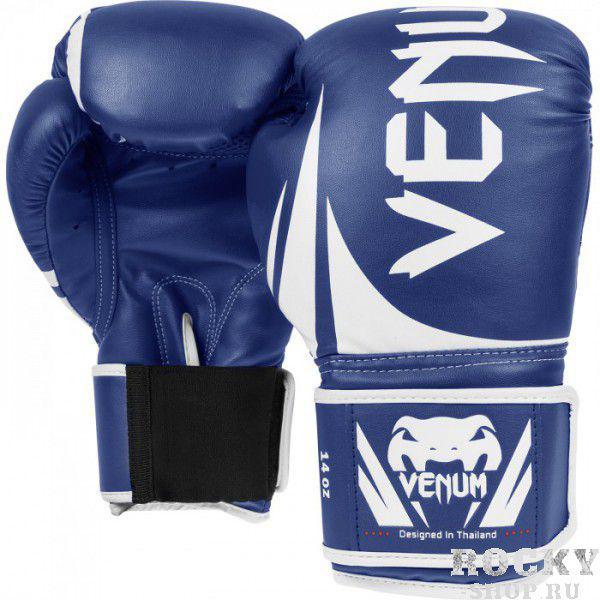 Купить Перчатки для бокса VENUM CHALLENGER 2.0 BOXING GLOVES - BLUE Venum 14 унций (арт. 2973)