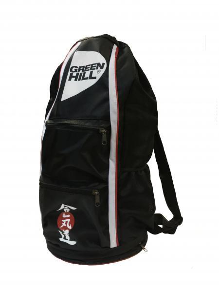 Спортивная сумка-тубус Green Hill Айкидо, Черная Green Hill