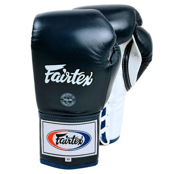 Перчатки боксерские Fairtex Leather Lace, 18 oz Fairtex