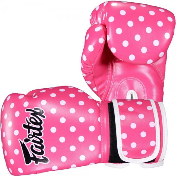 Боксерские перчатки Fairtex POLKA, 14 OZ Fairtex фото