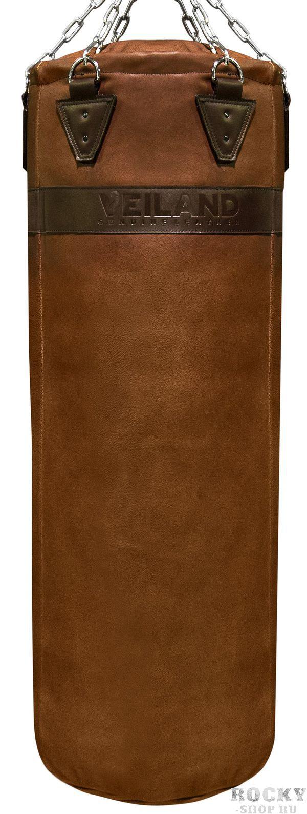 Профессиональный боксерский мешок Veiland, кожа, 140х40см, 55кг Veiland
