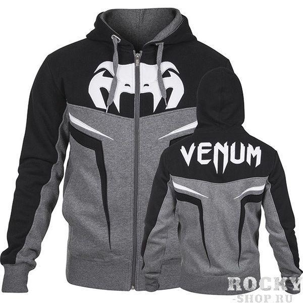 Купить Толстовка Venum ShockWave Hoody Grey (арт. 3015)