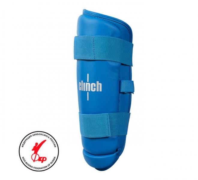 Защита голени Clinch Shin Guard Kick синяя Clinch Gear