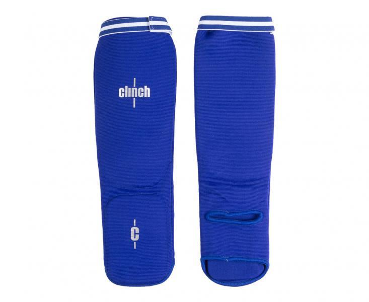 Защита голени и стопы Clinch Shin Instep Protector синяя Clinch Gear фото