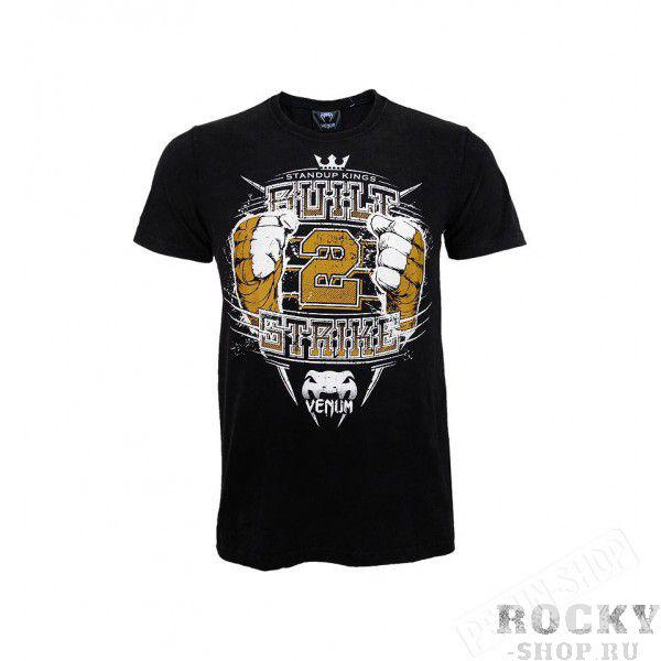 "Футболка Venum ""Built to Strike 2.0"" T-shirt Black"