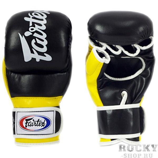 Перчатки для ММА Fairtex Alistair Overeem Black/Yellow Fairtex