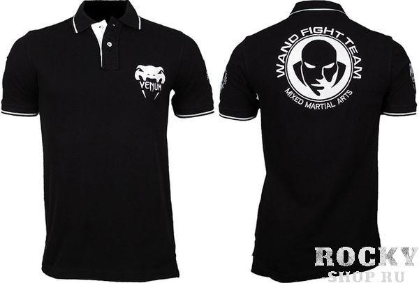 Поло Venum «Wand Fight Team»  - Black