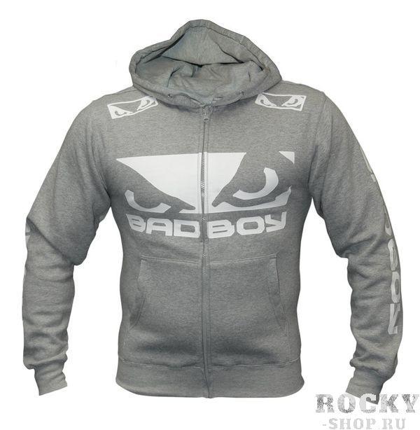 Купить Толстовка Bad Boy Pro Series Walk In Zip Hoodie Heather Grey (арт. 3086)