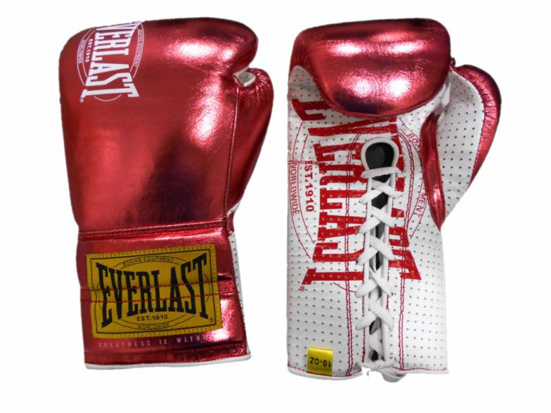 Боевые перчатки Everlast 1910 Classic Metallic Red
