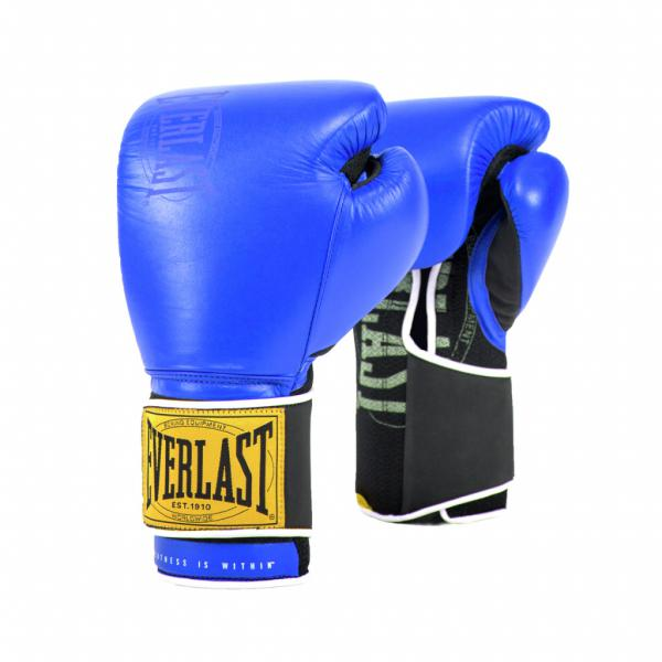 Боксерские перчатки Everlast 1910 Classic Blue, 12 OZ Everlast