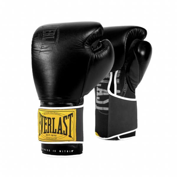 Боксерские перчатки Everlast 1910 Classic Black, 14 OZ Everlast